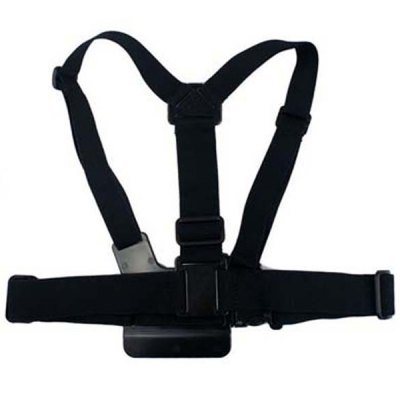 Фотография GP316 4 in 1 Practical Outdoor Camera Accessories Head Strap / Chest Strap / Floating Rod / B Style Monopod