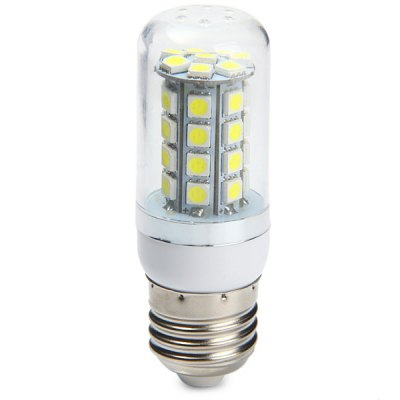 Фотография 320Lm E27 4W 36 x SMD 5050 6000  -  6500K White Light LED Corn Bulb ( AC 85  -  265V )