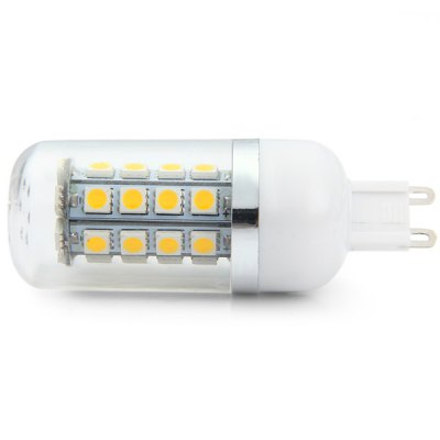 Фотография 320Lm G9 4W 36 x SMD 5050 2800  -  3200K Soft White Light LED Corn Bulb ( AC 85  -  265V )