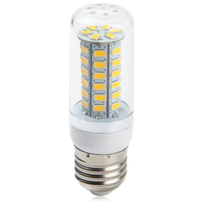 530Lm E27 4W SMD 5730 48 LEDs Soft White Light Clear LED Corn Bulb