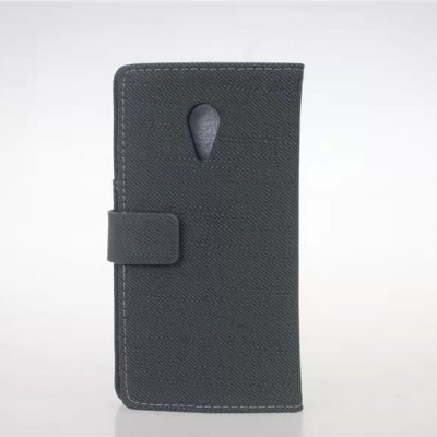 Гаджет   Cloth Texture Style PU and PC Material Card Holder Cover Case with Stand for Motorola Moto G2 Other Cases/Covers