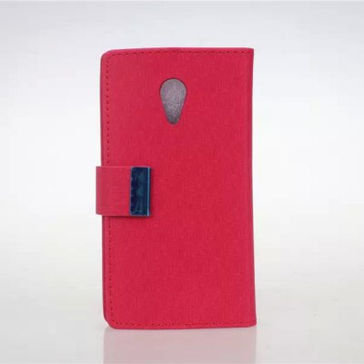 Maze Pattern PU and PC Material Card Holder Cover Case with Stand for Motorola Moto G2