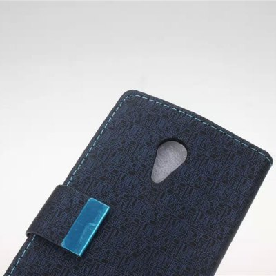 Фотография Maze Pattern PU and PC Material Card Holder Cover Case with Stand for Motorola Moto G2