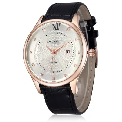 Emmanuel 2285 Business Style Male Quartz Watch