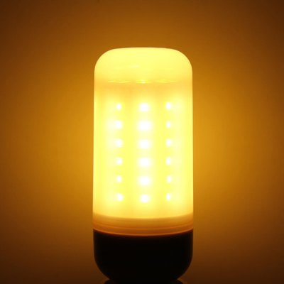 Фотография 660Lm G9 5W SMD 5730 60 LEDs Soft White LED Corn Bulb with Frosted Cover