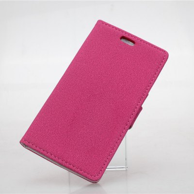 Фотография Gravel Pattern PU and PC Material Card Holder Cover Case with Stand for Nokia Lumia 830