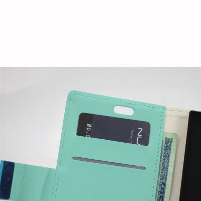 Фотография PU and PC Material Card Holder Cover Case with Stand for Nokia Lumia 830