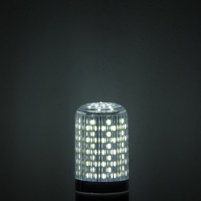 Фотография 15W E14 120 x SMD 3014 6000  -  6500K 1300Lm Dimming LED Corn Lamp with Silver Edge