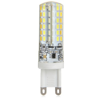6W G9 SMD 3014 96 LEDs Mini Corn Bulb Dimmable Silicone Capsule Bulb AC 220V