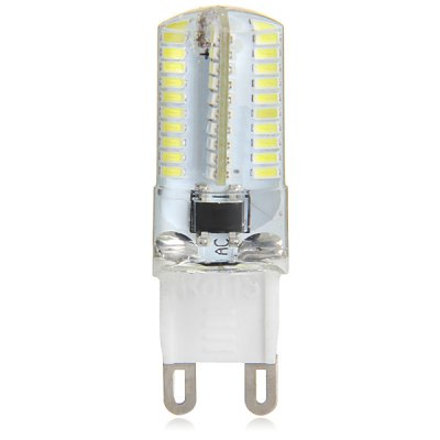 480LM G9 5W 80 SMD 3014 Mini Dimming Silicone Gel LED Corn Light ( AC 200  -  240V )
