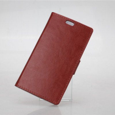 Фотография Crazy Horse Pattern PU and PC Material Card Holder Cover Case with Stand for Nokia Lumia 830