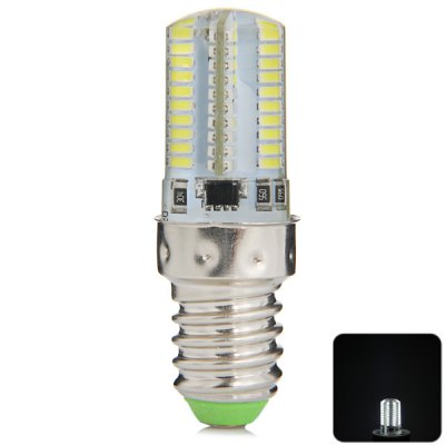 E14 5W 80 x SMD 3014 Mini LED Corn Lamp 6000 - 6500K