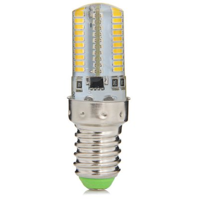 480LM E14 5W 80 SMD 3014 Mini Dimming Silicone Gel LED Corn Light ( AC 110V )