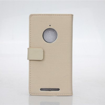 ФОТО Cloth Texture Pattern PU and PC Material Card Holder Cover Case with Stand for Nokia Lumia 830