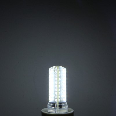Фотография E14 6W 72 x SMD 3014 Dimming Silicone LED Corn Lamp