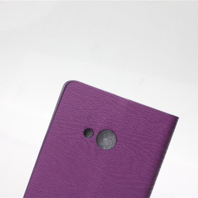 Фотография Wood Grain Pattern PU and PC Material Card Holder Cover Case with Stand for Microsoft Lumia 535