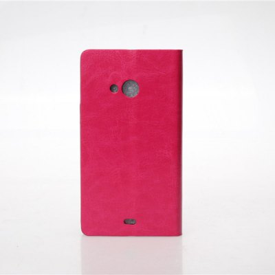 Гаджет   Crystal Grain Pattern PU and PC Material Card Holder Cover Case with Stand for Microsoft Lumia 535 Other Cases/Covers