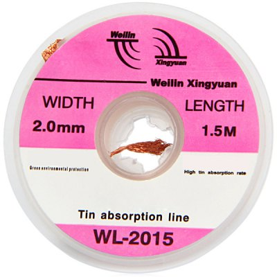 WLXY WL  -  2015 Tin Absorption Band / Line Width 2.0mm