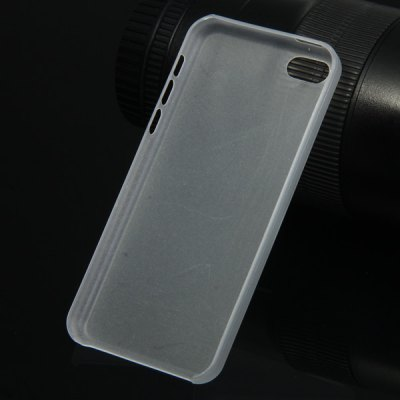 Фотография PC Material Transparent Matte Back Cover Case for iPhone 5C