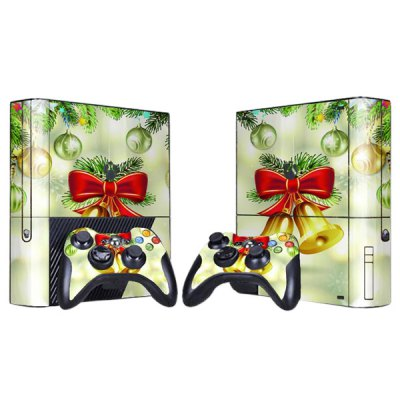Гаджет   Cover Skin Stickers for 360E Game Console and Controllers with Small Bells Pattern Video Game