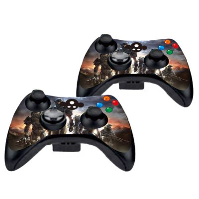Фотография Cover Skin Stickers for 360S Game Console and Controllers with Call of Zombie Figure Pattern