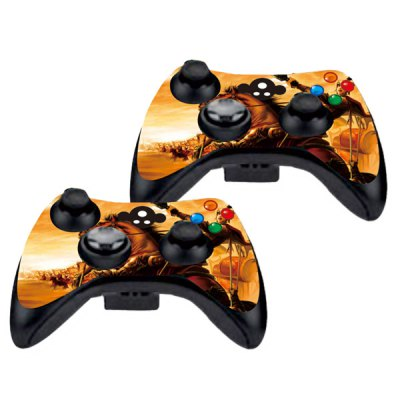 Фотография Cover Skin Stickers for 360S Game Console and Controllers with Mobile Game Heaven and Earth Figure Pattern