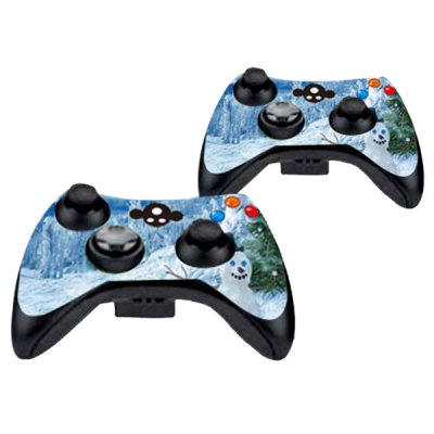 Фотография Cover Skin Stickers for 360S Game Console and Controllers with Snow Scene Pattern