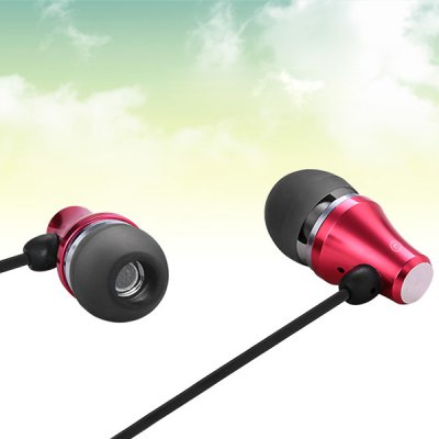 WOPOW EM603 Universal 1.2m Round Cable In - ear Earphone 3.5mm Jack Headphone with Mic