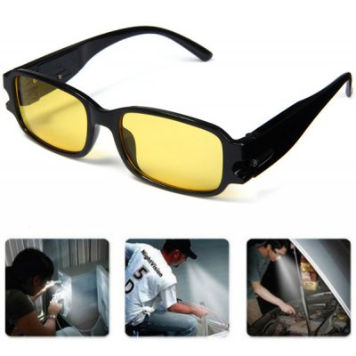 Currency Detect Function Plain Eyeglass LED Reading Glasses