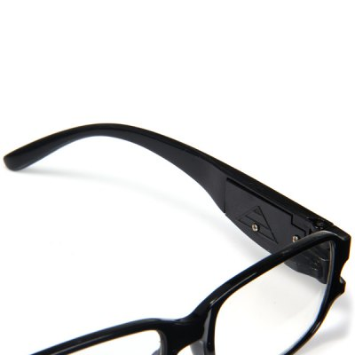 Фотография LED Reading Glasses +1.5 Diopter Magnifier Currency Detect Function Eyeglass