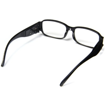 Фотография Currency Detect Function LED Eyeglass LED Reading Glasses Magnifier with Lights +2.5