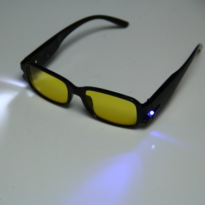 Гаджет   Dual LED +4.0 Reading Glasses Magnifier Eyeglass with Money Detect Function