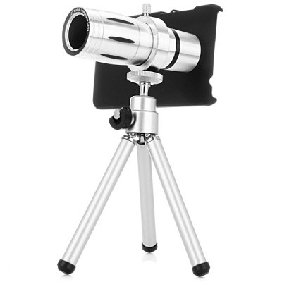 12x Optical Magnification Mobile Telephoto Lens with Case and Tripod Sets for Xiaomi 4