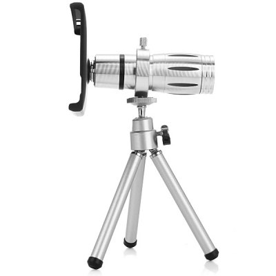 Фотография Practical 12x Optical Telescope Mobile Telephoto Lens with Tripod and Back Case for Xiaomi 4
