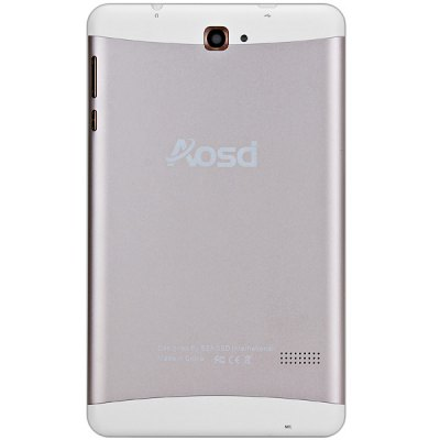Aosd P300 7 inch Android 4.4 3G PhabletFeatured Tablets<br>Aosd P300 7 inch Android 4.4 3G Phablet<br><br>Brand: AOSD<br>Type: Phablet<br>OS: Android 4.4<br>CPU Brand: MTK<br>CPU: MTK8382<br>GPU: Mali-400 MP<br>Core: 1.3GHz,Quad Core<br>RAM: 1GB<br>ROM: 8GB<br>WIFI: 802.11b/g/n wireless internet<br>Support Network: 2G,Built-in 3G,WiFi<br>Network type: GSM+WCDMA<br>Frequency: GSM 850/900/1800/1900MHz WCDMA 850/2100MHz<br>3G: Built in 3G (WCDMA)<br>GPS: Yes<br>Bluetooth: Yes<br>Screen type: Capacitive (5-Point),IPS<br>Screen size: 7 inch<br>Screen resolution: 1280 x 800 (WXGA)<br>Camera type: Dual cameras (one front one back)<br>Back camera: 5.0MP<br>Front camera: 2.0MP<br>Video recording: Yes<br>SIM Card Slot: Dual SIM,Dual Standby<br>TF card slot: Yes<br>Micro USB Slot: Yes<br>3.5mm Headphone Jack: Yes<br>Battery Capacity: 3500mAh<br>Battery / Run Time (up to): 3 hours video playing time<br>AC adapter: 100-240V 5V 2A<br>G-sensor: Supported<br>Skype: Supported<br>Youtube: Supported<br>Speaker: Supported<br>MIC: Supported<br>Picture format: BMP,GIF,JPEG,PNG<br>Music format: AAC,MP3,WMA<br>Video format: 3GP,AVI,MP4<br>MS Office format: Excel,PPT,Word<br>E-book format: PDF,TXT<br>3D Games: Supported<br>Languages: Dutch,English,French,German,Italian,Portuguese,Russian,Spanish<br>Note: If you need any specific language other than English and you must leave us a message when you checkout<br>Additional Features: Bluetooth,Browser,E-book,MP3,MP4,Wi-Fi<br>Product size: 18.80 x 11.20 x 0.80 cm / 7.4 x 4.41 x 0.31 inches<br>Package size: 23.00 x 23.00 x 4.50 cm / 9.06 x 9.06 x 1.77 inches<br>Product weight: 0.255 kg<br>Package weight: 0.700 kg<br>Tablet PC: 1<br>OTG Cable: 1<br>Charger: 1<br>USB Cable: 1<br>English Manual : 1