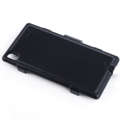 Фотография Fashionable Style 3500mAh Backup Battery Charger Case with Stand Function for Sony Xperia Z2