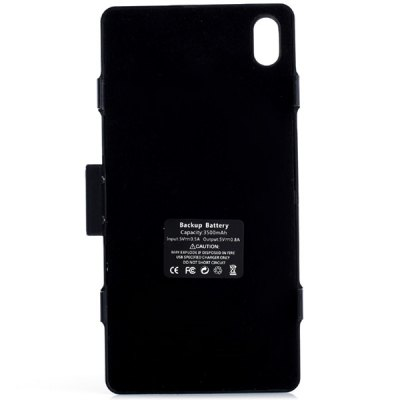 Фотография Fashionable Style 3500mAh Backup Battery Charger Case with Stand Function for Sony XperiaZ2