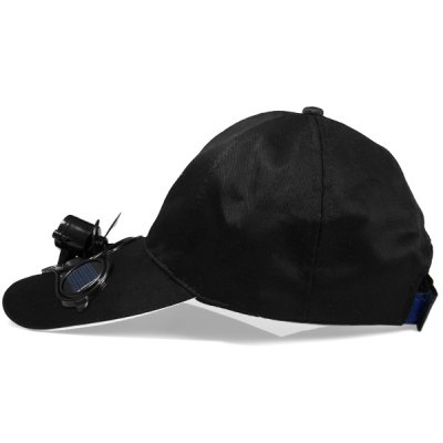 Фотография Solar Power Hat Peak Cap Sunhat with Air Fan for Summer Outdoor Sports Cycling Supplies