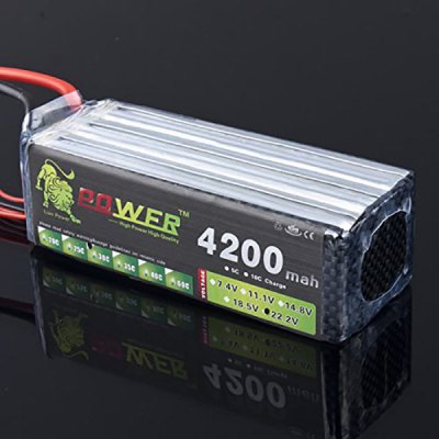 Lion Power 22.2V 4200mAh 30C Lipo High Capacity Battery