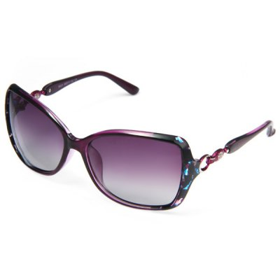 Gushi 8239 Female Sunglasses TAC HD Polarizer Anti - reflective Glasses for Fashion Ornament