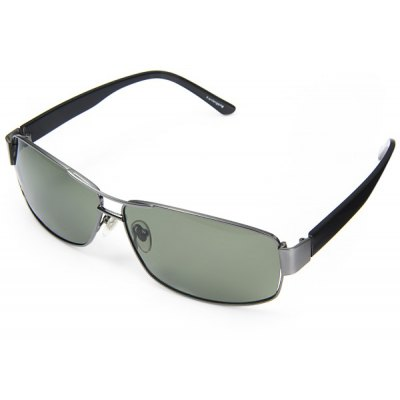 Yueguangzu 951 Male Sunglasses TAC Polarizer Glasses with Metal Material