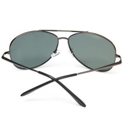 Male Sunglasses Intensified Polarizer Glare Blocking Glasses with Metal Material от GearBest.com INT