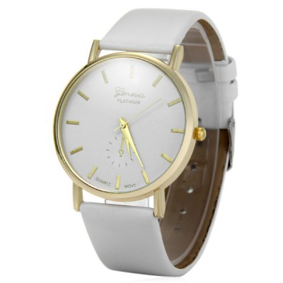 Geneva Fashional Quartz Watch Unisex Analog Wristwatch
