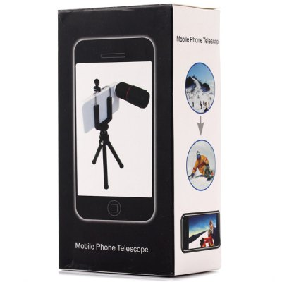 Фотография Practical 8x Optical Telescope Mobile Telephoto Lens with Clip for Smartphone Photographers