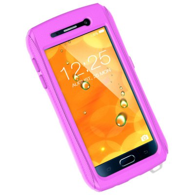 Portable Waterproof Protective PU + TPC Case for Samsung Galaxy S6