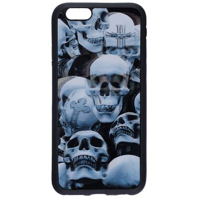 Гаджет   Skulls Pattern TPU Protective Back Cover Case for iPhone 6 iPhone Cases/Covers