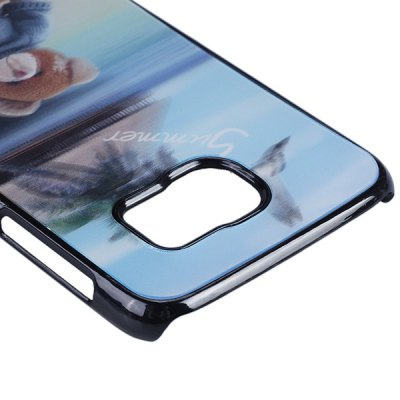 Фотография Bear Pattern 3D Coloured Sculpture Protective Case for Samsung Galaxy S6