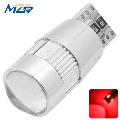 MZ T10 3W 210lm Red Light 6 SMD 5630 LEDs Car Indicator Lamp