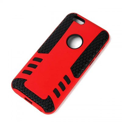 Фотография PC and TPU Material Detachable Phone Back Cover Case for iPhone 6 Plus  -  5.5 inch