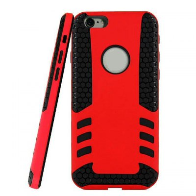 PC and TPU Material Detachable Phone Back Cover Case for iPhone 6  -  4.7 inch